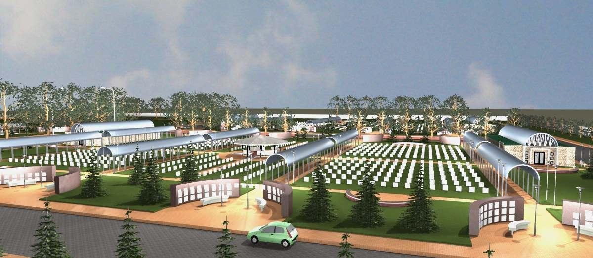 Cementerio parque melipulli pergola 2