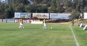 Javier Parraguez celebra el gol frente a Trasandino - Foto: @DPMChile