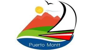 Logo de Puerto Montt como sede del Mundial Sub 17 de fútbol el año 2015